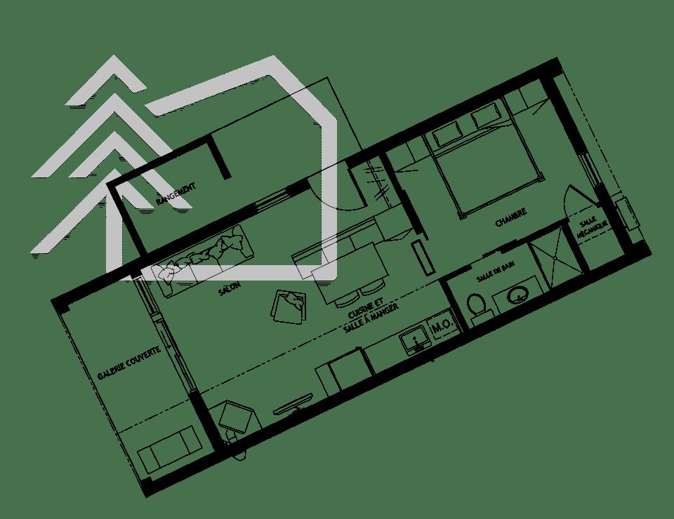 plan chalet toro