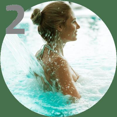 rafraîchir corps spa bain
